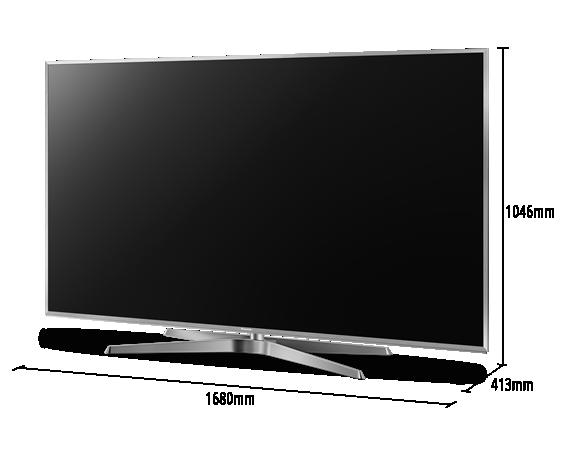 LED LCD TV TC-75GX880W
