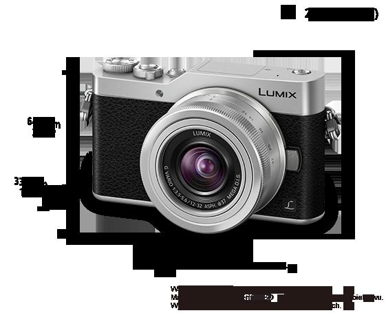 Bezlusterkowy aparat cyfrowy DSLM LUMIX DMC-GX800K