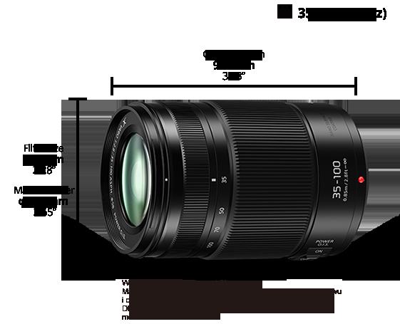 Obiektyw LUMIX G H-HSA35100