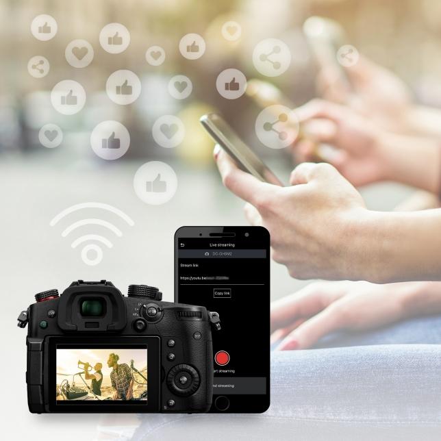 Redare în flux în timp real în mod wireless (protocol RTMP/RTMPS)