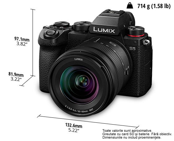 Camera foto LUMIX S DC-S5K