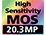 Senzor MOS de 20,3 MP