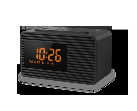 Aparat de radio FM cu ceas RC-800