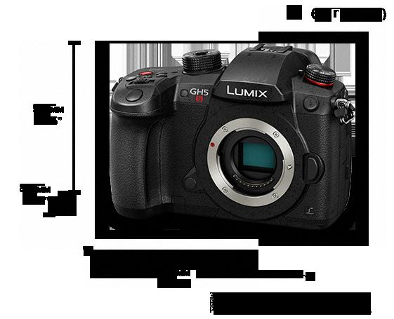 Цифровая беззеркальная камера LUMIX DC-GH5SEE
