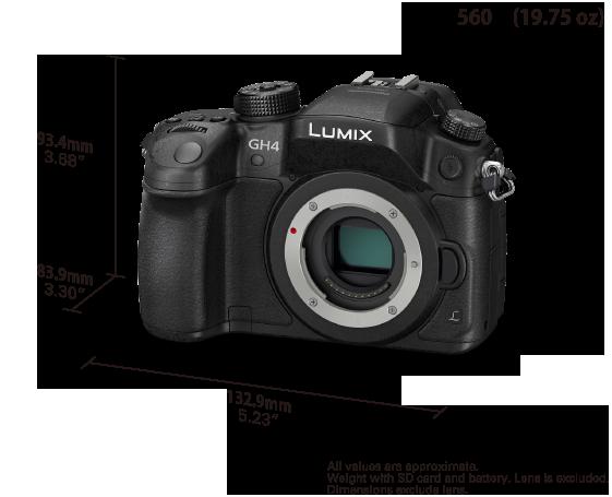 Цифровая беззеркальная фото/видеокамера LUMIX DMC-GH4