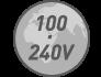 100–240 В