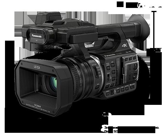 4K Ultra HD видеокамера HC-X1000EE