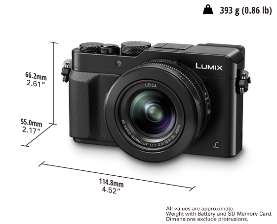LUMIX Digital Camerab DMC-LX100GC
