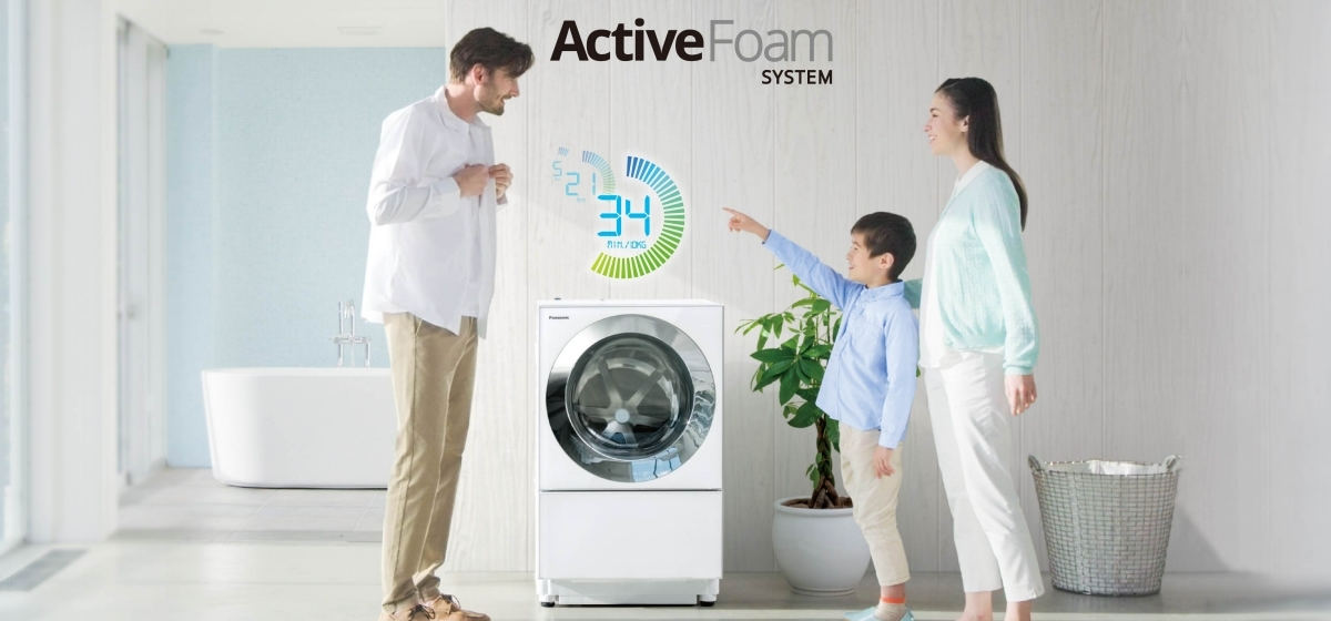 Amazingly Fast 34-min Wash*