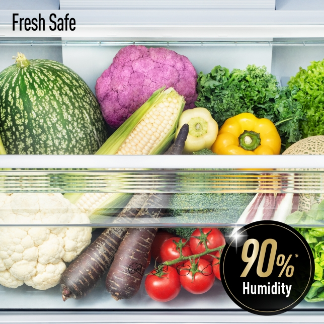 Moisture Retained for Vegetable Storage