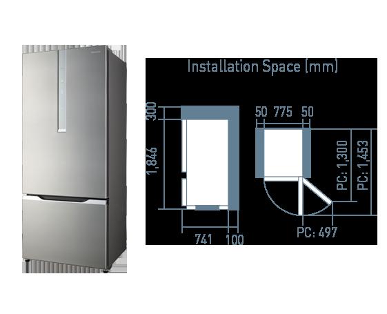 Refrigerator NR-BY608
