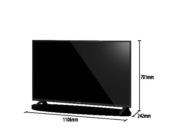 LED LCD TV TH-49GX600S