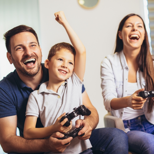 Be at one with on-screen gaming action