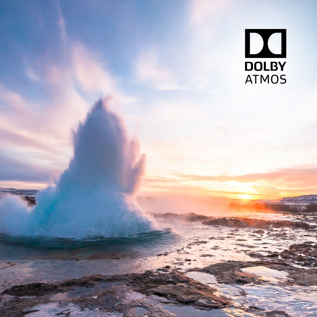 Immersive sound from all around you – Dolby Atmos®