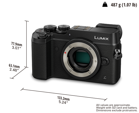 LUMIX Digital Single Lens Mirrorless Camera DMC-GX8GC