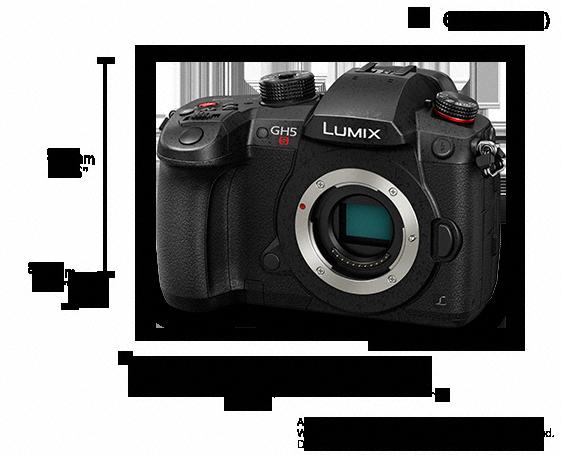 LUMIX Dijital Tek Lensli Aynasız Kamera DC-GH5S