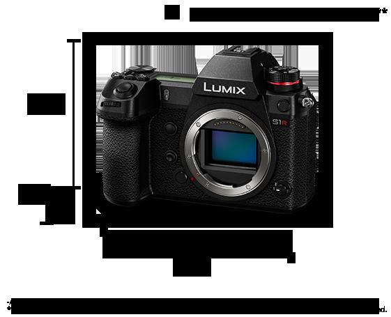 LUMIX Dijital Tek Lensli Aynasız Kamera DC-S1R