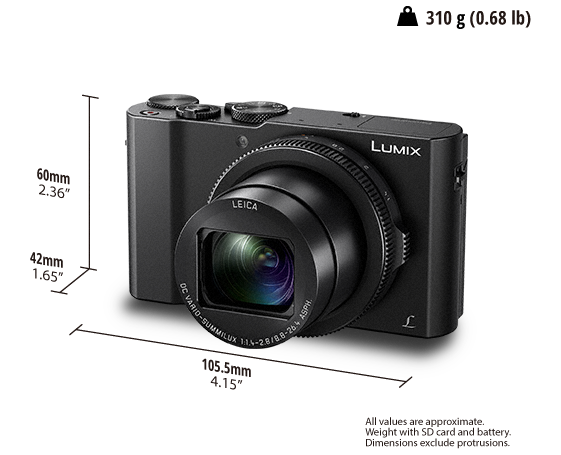 LUMIX Dijital Fotoğraf Makinesi DMC-LX15