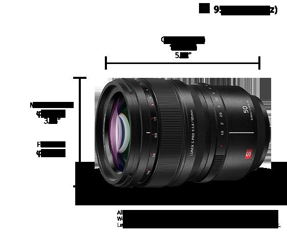 LUMIX S PRO Lens S-X50