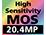 20.4 Megapixels Sensor