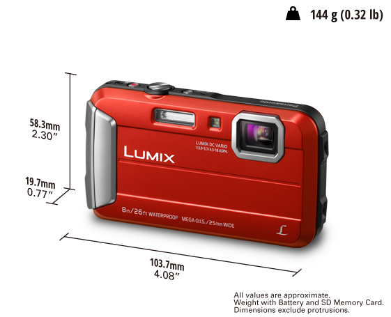 LUMIX Digital Camera DMC-FT30