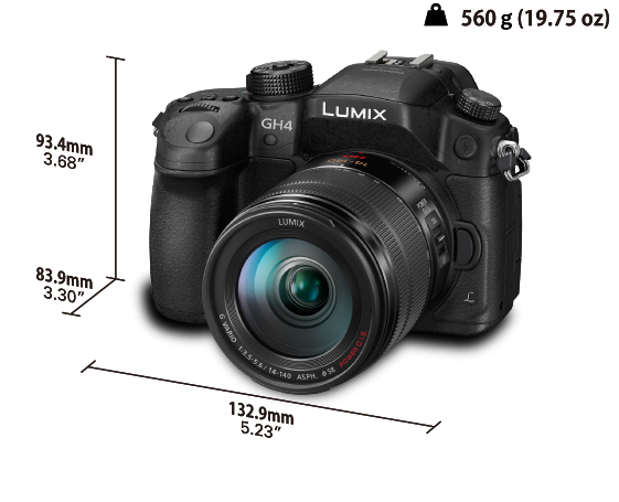 LUMIX G Camera DMC-GH4