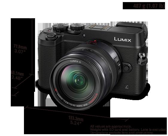 LUMIX G Compact System Camera DMC-GX8
