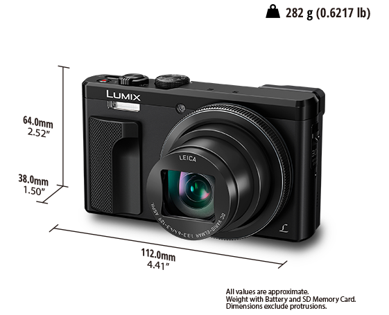 LUMIX Digital Camera DMC-TZ80EB
