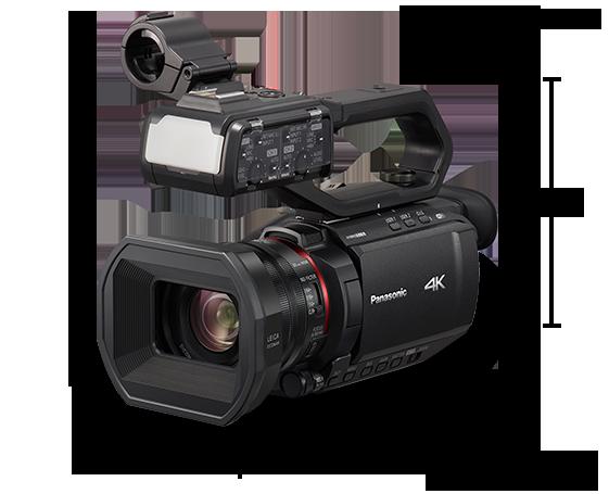 Câmera de vídeo profissional 4K HC-X2000