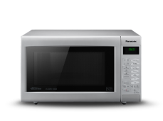 Black microwave oven grill