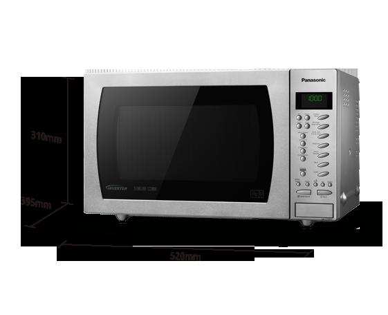 nn ct585sbpq combi oven with slimline design panasonic uk ireland rh panasonic com Panasonic Genius Inverter Microwave Panasonic Inverter Microwave Oven