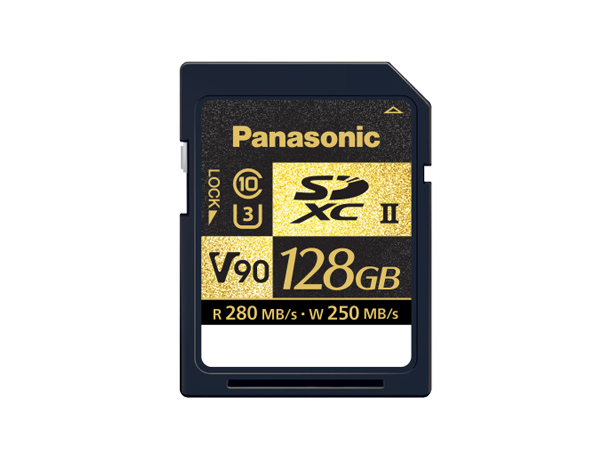 Photo of RP-SDZA128GAK Class V90 SD Card