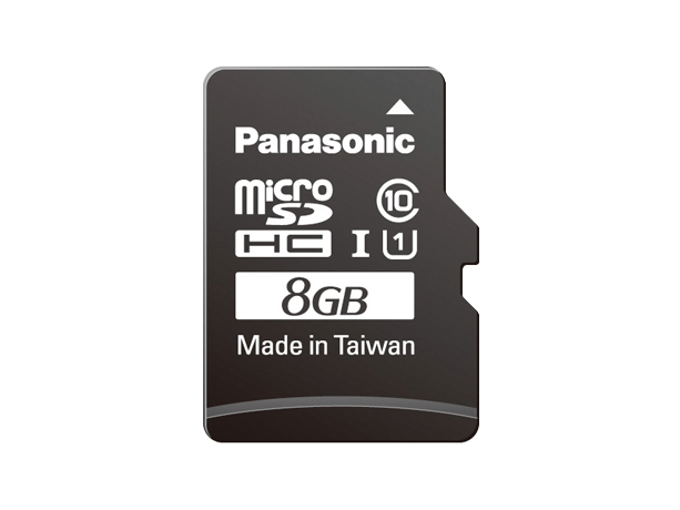 Specs - RP-SMGA08GAK LUMIX Camera & Camcorder SD Cards - Panasonic