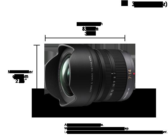 LUMIX G Lens H-F007014E