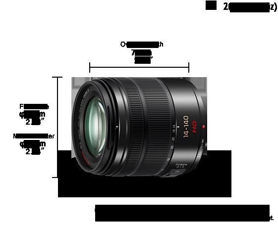 LUMIX G Lens H-FS14140E