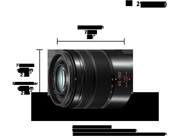 LUMIX G Lens H-FS45150E