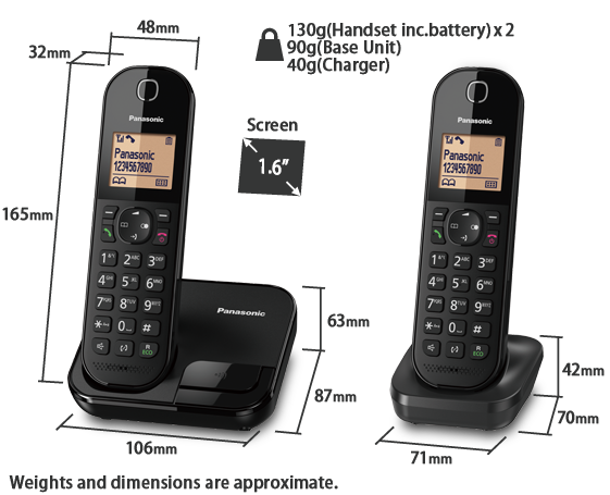Telephone KX-TGC412CX