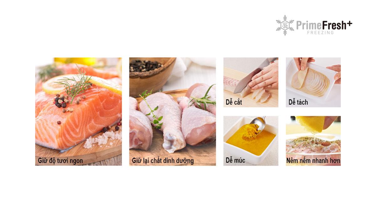 Prime Fresh+ giúp nấu những bữa ăn lành mạnh mỗi ngày