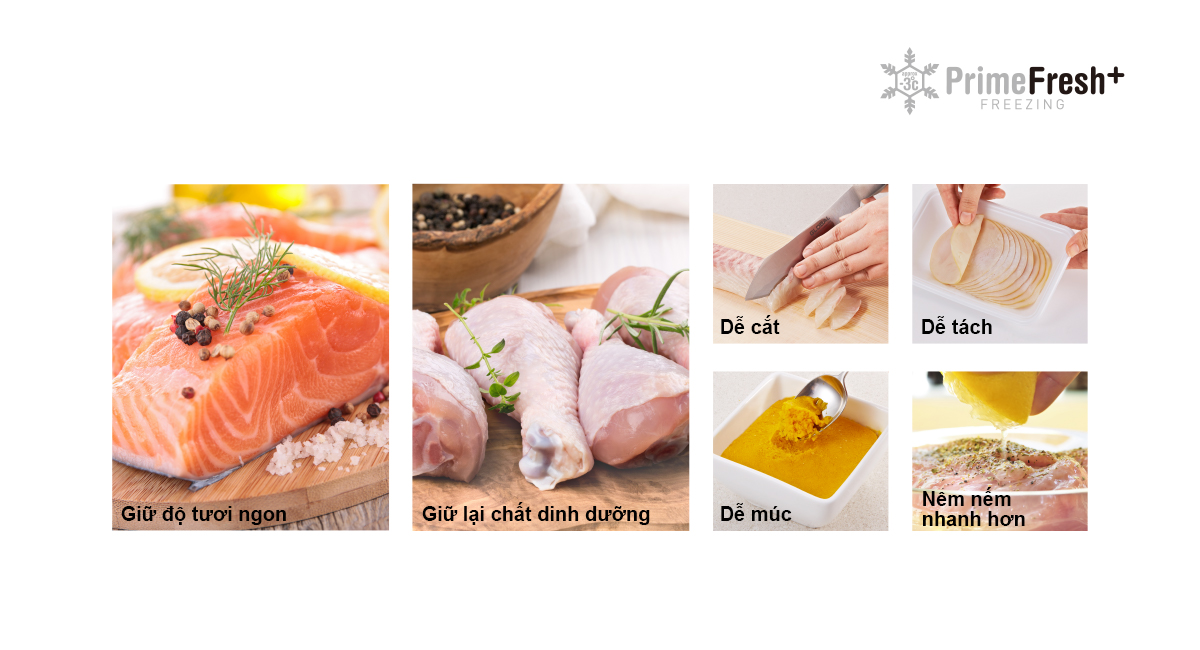 Prime Fresh+ giúp nấu các bữa ăn lành mạnh mỗi ngày