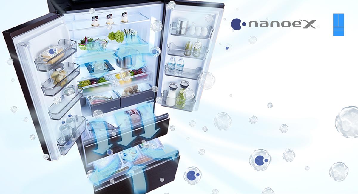 Vô hiệu hóa 99,99%*¹ vi khuẩn với nanoe™X