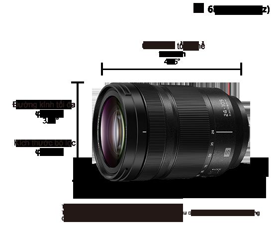 Ống kính LUMIX S-R24105GC