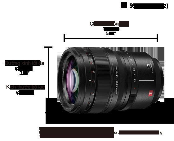 Ống kính LUMIX S PRO S-X50GC