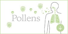 Inhibits pollens*²⁰ all year round