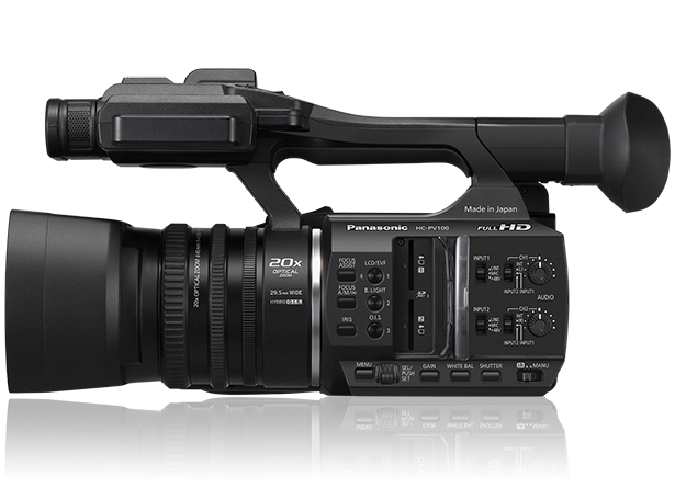Panasonic HC-PV100 HD Camcorder Professional Video Camera