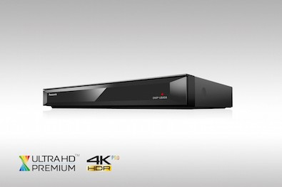 Panasonic Ultra HD Blu-ray Player DMP-UB404