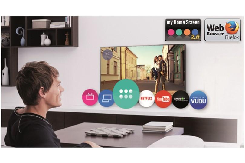 Panasonic introduce el sistema operativo Firefox en sus nuevos Smart TV