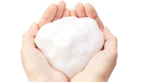 Foam Enhances Surfactant Power