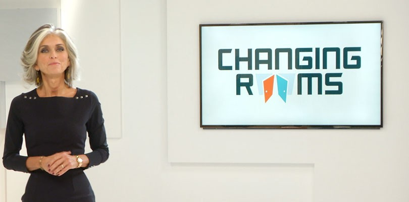 TV Viera e Toughpad protagonisti di Changing Rooms