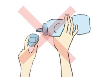 乾淨不沾手減少瓶罐擺放