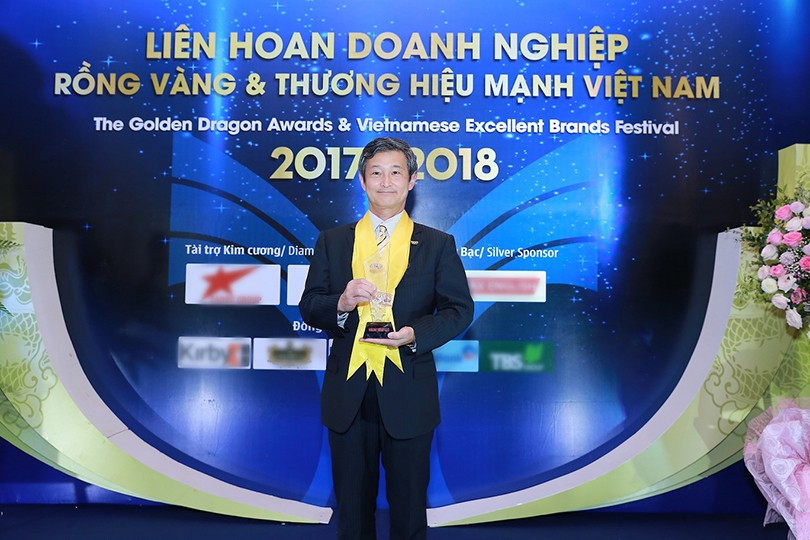 The 100-year-old Panasonic is honored with Golden Dragon 2018 Award